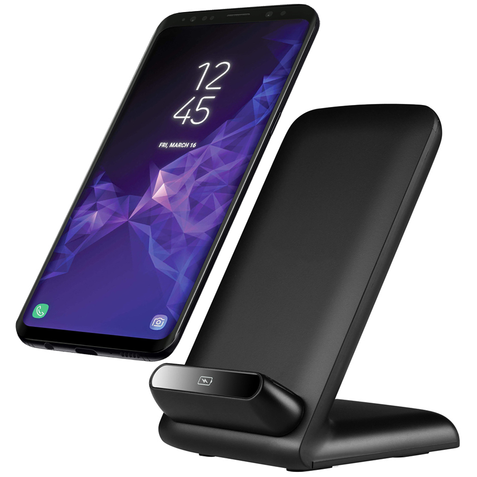 10w Qi Fast Wireless Charging Stand For Samsung Galaxy S9